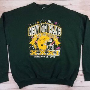Rare VTG 90s Green Bay Packers Pro Line Sweatshirt